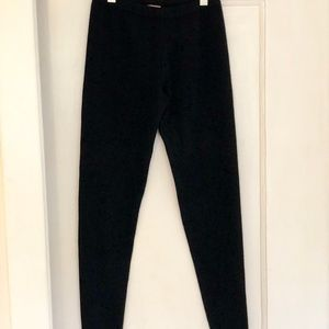 Kier+J Black Cashmere Leggings EUC